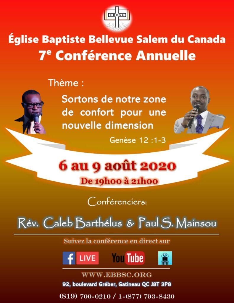 conférence annuelle 2020